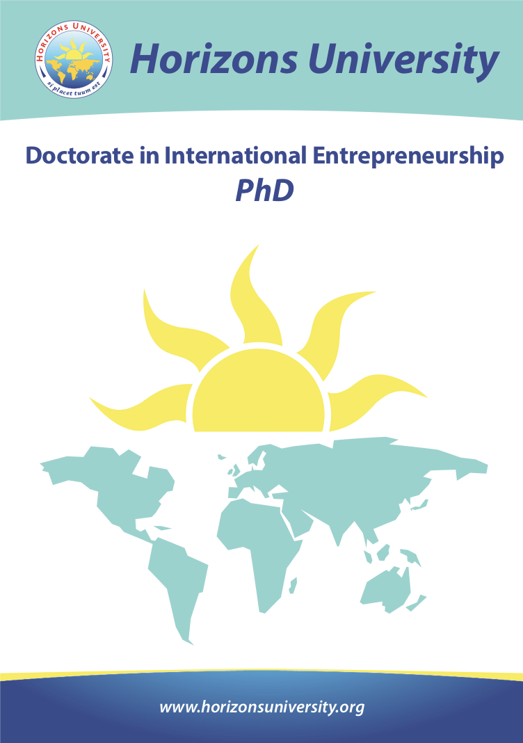PhD in International Entrepreneurship