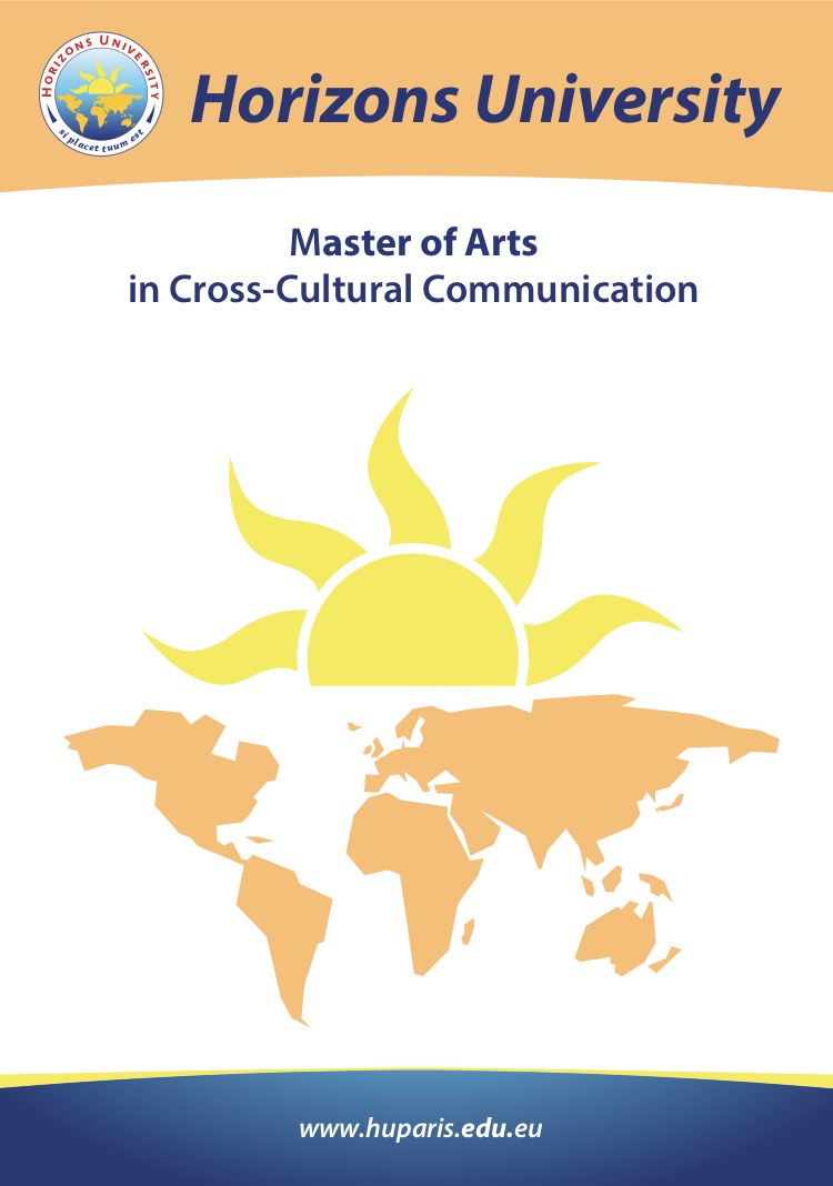 MA in Cross Cultural Communication